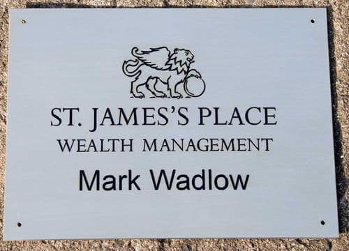 Online Sign Maker | Deep Engraved Stainless Steel Signs